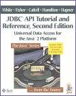 JDBC API Tutorial and Reference, Taschenbuch -912 Seiten - 2nd Ed (1999) Addison Wesley Longman Publishing Co; ISBN: 0201433281